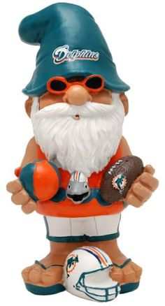 NFL Miami Dolphins Thematic Gnome  2nd Version >>> More info could be found at the image url.