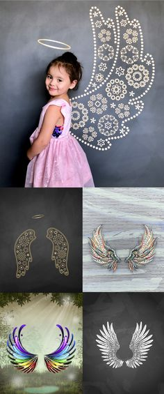 Angel Wing Backdrops Kids Angel Wings, Preschool Projects, Backdrop Ideas, Photographing Kids, Photography Backdrops, Project Ideas, Ava, Wedding Ideas, Pictures