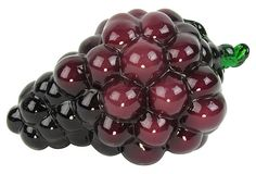 Purple Glass Grapes by Ruby + George on @Jonathan London Kings Lane