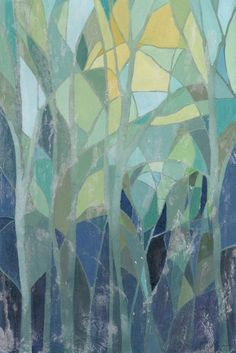 Stained Glass Forest I