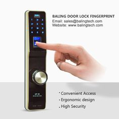 1.No Drilling And Direction 2.Fit All Security Lock Body 3.Random Code  4.Fingerprint Learning 5.Dual Core Double System