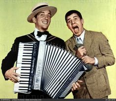 Dean Martin and Jerry Lewis in The Stooge 1952.