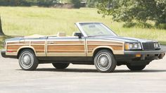 1986 Chrysler LeBaron Town & Country Bonhams Simeone auction