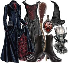 """""""witch costume"""" by angelafi13 on Polyvore"""