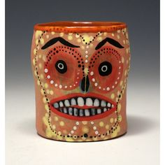 G Granny D  Skull Cup by jennymendes on Etsy