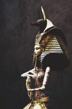 Egyptian Goddess Isis.