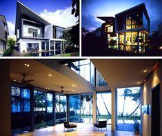 Dream-House Designs: 10 Uncanny Ultramodern Homes Ultramodern Tiny Lot Home