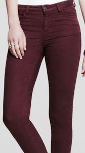 Calvin Klein Merlot Luxurious Skinny Jeans Women's Stretch Size 2 x 30 New | eBay