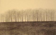 Artist: Shigeki Tomura, Title: Morioka in Winter II - click for larger image