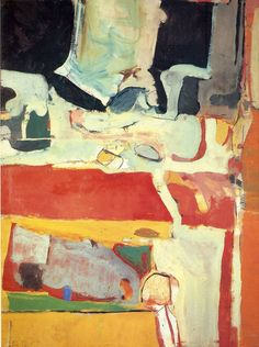 "Richard Diebenkorn ""Urbana No. 4"", 1953 (USA, Abstract Expressionism / Bay Area Figurative Movement, 20th cent.)"