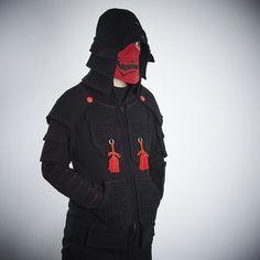 Samurai Armor Hoodie Set <Black> 3