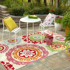 Mohawk home - Outdoor Pindall Cream 63 Inch x 94 Inch Rug - 392369 - Home Depot Canada