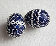Slovakia / Easter eggs, bobbin lace from Katka Búranová /// (kraslice, paličkovaná čipka Katky Búranovej)