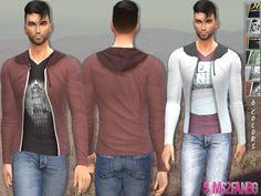 The Sims 4 CC || Gishels || Kenzo Inspired Sweaters For Male