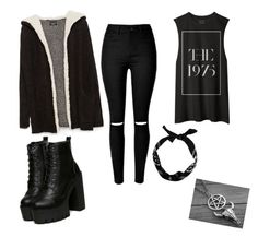 """Untitled #15"" by dumitrualexandra ❤ liked on Polyvore featuring beauty, Zara and New Look"