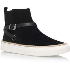 KG Kurt Geiger Luna Boots ($155) ❤ liked on Polyvore featuring shoes, boots, side zip boots, kg kurt geiger shoes, suede leather shoes, suede shoes and kg kurt geiger boots