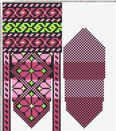 Schemes of mittens: 14 thousand images found in Yandex. Knitted Mittens Pattern, Knit Mittens, Mitten Gloves, Knitting Socks, Hand Knitting, Knitted Hats, Filet Crochet, Knit Crochet, Crochet Hats