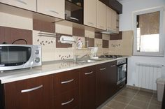 Apartamente Dobroesti Fundeni New City, Kitchen Cabinets, Home Decor, Decoration Home, Room Decor, Cabinets, Home Interior Design, Dressers, Home Decoration