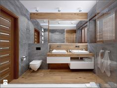 50 Modern Cabin Interior Design Ideas Dom szeregowy Nefrytowa Wrocław Łazienka styl nowoczesny Modern Cabin Interior, Cabin Interior Design, Interior Exterior, Bathroom Interior Design, House Design, Contemporary Bathrooms, Modern Bathroom, Small Bathroom, Master Bathroom