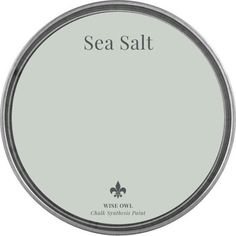 Sea Salt Wise Owl Chalk Synthesis Paint Available in Pints Green Paint Colors, Bedroom Paint Colors, Paint Colors For Home, House Colors, Green Gray Paint, Beachy Paint Colors, Basement Paint Colors, Chalk Paint Colors, Blue Green