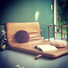 THE M #bythornam #daybed #lounge #leather #handmade #danishdesign #madeindenmark #christinalundsteen #slowliving
