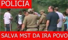 👏👏POPULAÇÃO EXPULSA INVASORES DO MST QUE PEDE SOCORRO A POLICIA