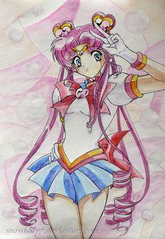 Sailor Moon: Sailor Chibi Chib by SnowLady7.deviantart.com on @deviantART