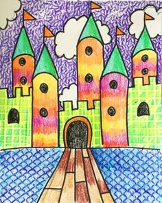 Free Art Lesson Plans for Kids - Art to Remember Kindergarten Art Lessons, Art Lessons Elementary, Kindergarten Drawing, Art Sub Plans, Art Lesson Plans, Texture Art Projects, Color Art Lessons, 3rd Grade Art Lesson, Classroom Art Projects