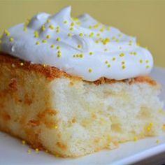 Pineapple Angel Food Cake I - Allrecipes.com