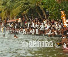 Latest news from India, World, Entertainment, Science, Health and Technology Kerala Backwaters, Small Island, Natural Beauty, Dolores Park, Beautiful Places, Racing, Boat, River, City