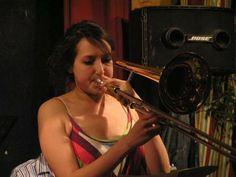 Dordogne International Jazz Summer School Photos on Myspace - Study #Jazz #Trombone (not plastic this time)