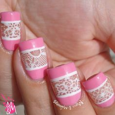 Manis & Makeovers: Pinky & Lacy
