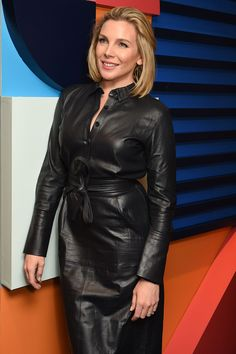 June Diane Raphael attends Variety Studio at Toronto International Film Festival, Presented by AT&T, Day Canada - 08 September 2019 June Diane Raphael, Leather Skirt, Leather Jacket, Middle Aged Women, Latex Dress, International Film Festival, Timeless Elegance, Dress Outfits, Dresses