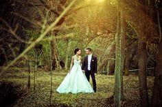 Classic Vintage / Modern style wedding (Twilight background)