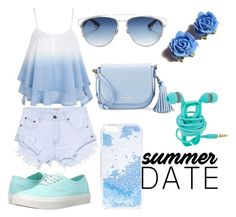 """Summer Date: The State Fair"" by svajka ❤ liked on Polyvore featuring One Teaspoon, Vans, Christian Dior, Tarina Tarantino, Kate Spade, Skinnydip, statefair and summerdate"