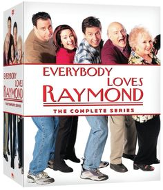 One of the most popular situation comedies of its era, #CBS's genial #EVERYBODY #LOVES #RAYMOND (1996-2005), appears in its entirety in this sprawling package. The set features all original 210 episodes, spanning nine seasons and running well over 100 hours. #CompleteSeries #EverybodyLovesRaymond #RayRomano #TV #DorisRoberts #Doris #Roberts #DVD
