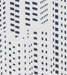 Daniel Rich, Hong Kong Windows, 2015. Acrylic on paper 15.5 x 14 inches
