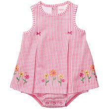 @Carter's girl's pink plaid sunsuit