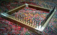 """Este jueves pasado, 11 de octubre, en Ifil  hacían una """"cata"""" gratuita para aprender a usar un telar, con la ayuda de Laura Freyre .  La ve... Lana, Weaving, Textiles, Rugs, Crochet, Wassily Kandinsky, Home Decor, Ideas Para, Folding Screens"""