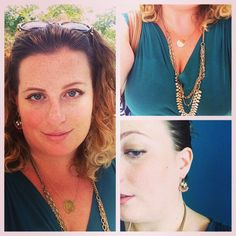 Favorite color, great with gold Sutton and sunshine. Daily Dot, Favorite Color, Sunshine, Dots, Chain, Inspiration, Jewelry, Fashion, Stitches