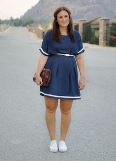 Summerdress Navy Dress Streetstyle