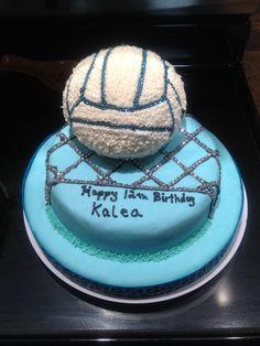 Happy Birthday Tennis Cake Jackie