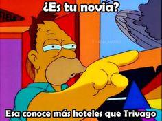 Y con Trivago ha nacido un nuevo dicho xD Para más imágenes graciosas visita: https://www.Huevadas.net #meme #humor #chistes #viral #amor #huevadasnet