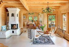 Interiorul casei arată ca o lucrare de artizanat