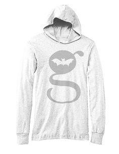 G Design Unisex Long Sleeve Jersey Hoodie White