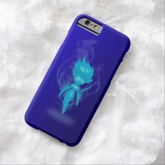 Blue Pixie Airbrush Art iPhone 6, Barely There Case by BOLO Designs.
