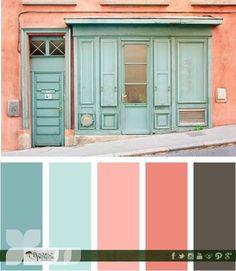 El color exterior dará la primera impresión de tu hogar, elige una gama de colores que combinen y vayan con tu estilo.