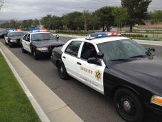 Late Post: May 6, 2013. Caravan to California Peace Officers Memorial