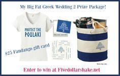My Big Fat Greek Wedding 2 Prize Pack Giveaway #MyBigFatGreekWedding2
