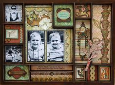 scrapbook photo tray - Google Search